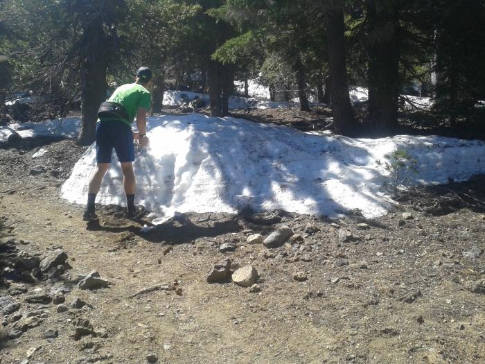 hike snow