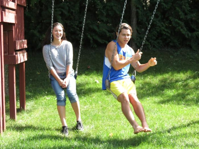 back to school swing