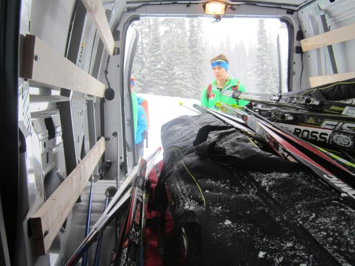 SS ski van