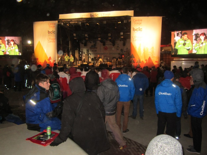 Centre stage in the Athlete Village